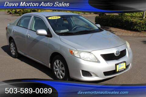 2010 Toyota Corolla for sale at Dave Morton Auto Sales in Salem OR