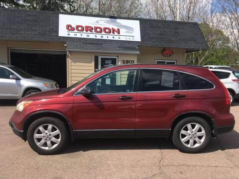 2007 Honda CR-V for sale at Gordon Auto Sales LLC in Sioux City IA