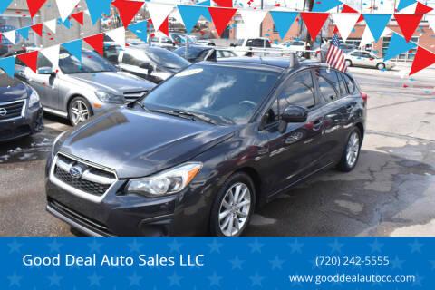 2013 Subaru Impreza for sale at Good Deal Auto Sales LLC in Denver CO