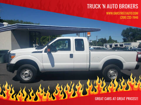 2012 Ford F-250 Super Duty for sale at Truck 'N Auto Brokers in Pocatello ID
