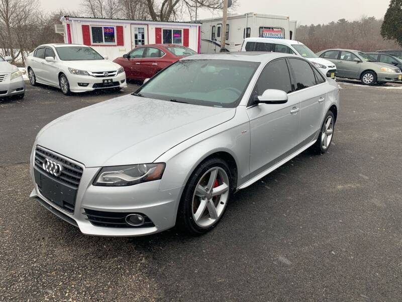 2012 Audi A4 for sale at Lux Car Sales in South Easton MA