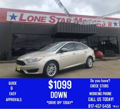 2017 Ford Focus for sale at LONE STAR MOTORS II in Fort Worth TX