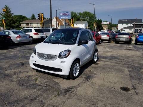 2016 Smart fortwo for sale at MOE MOTORS LLC in South Milwaukee WI