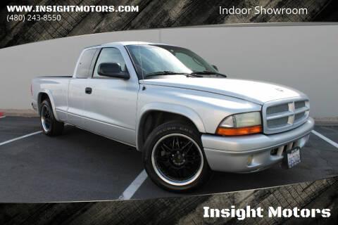 2001 Dodge Dakota for sale at Insight Motors in Tempe AZ
