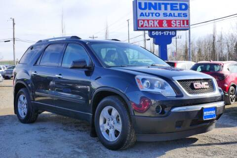 2011 GMC Acadia for sale at United Auto Sales in Anchorage AK
