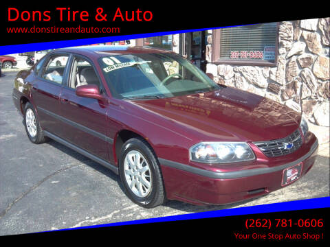 2001 Chevrolet Impala for sale at Dons Tire & Auto in Butler WI