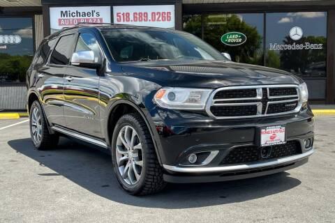 2018 Dodge Durango for sale at Michaels Auto Plaza in East Greenbush NY