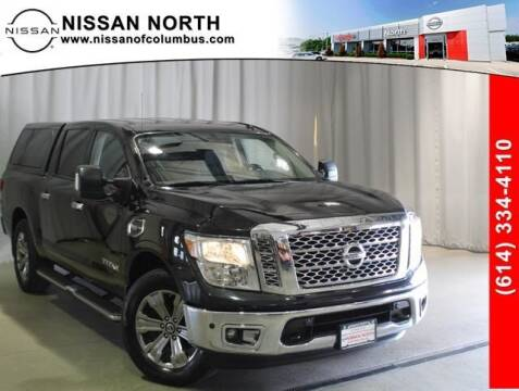 2017 Nissan Titan for sale at Auto Center of Columbus in Columbus OH