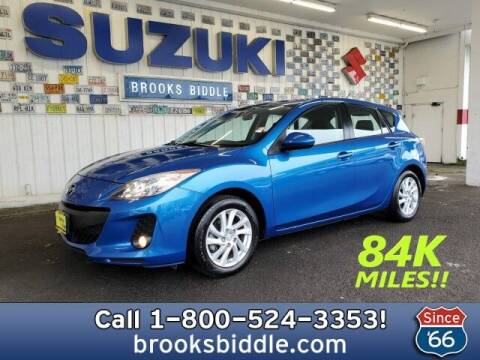 2012 Mazda MAZDA3 for sale at BROOKS BIDDLE AUTOMOTIVE in Bothell WA