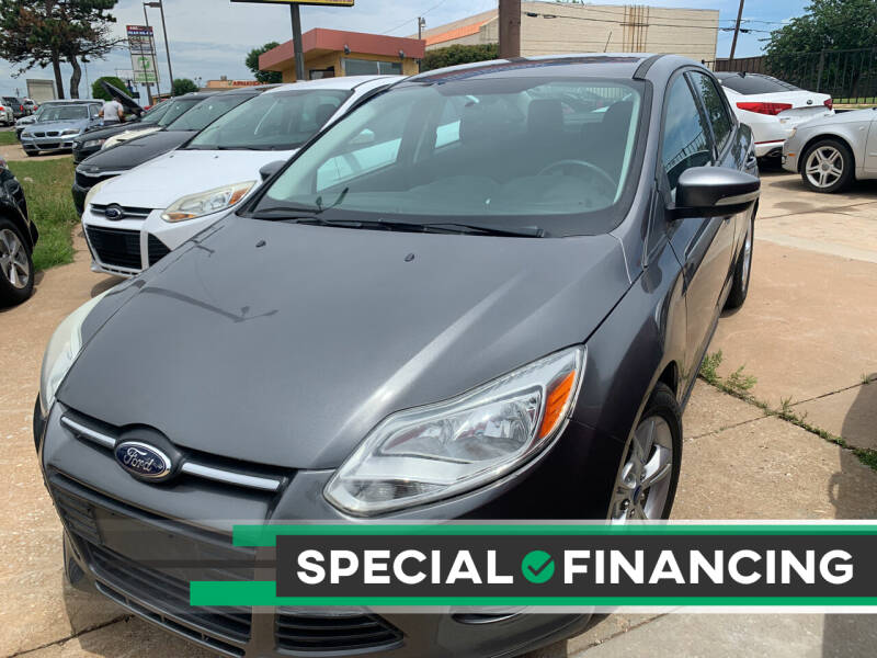 2014 Ford Focus for sale at Automay Car Sales in Oklahoma City OK