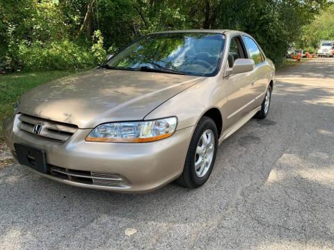 2002 Honda Accord for sale at Triangle Auto Sales in Elgin IL