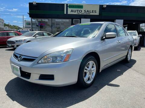 2006 Honda Accord for sale at Wakefield Auto Sales of Main Street Inc. in Wakefield MA