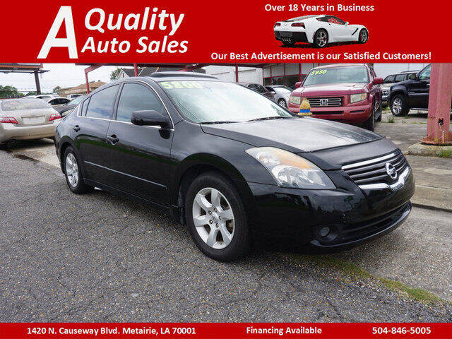 2009 Nissan Altima for sale at A Quality Auto Sales in Metairie LA