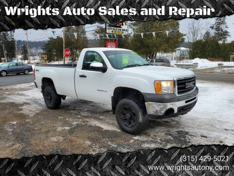 2011 GMC Sierra 1500 for sale at Wrights Auto Sales and Repair in Dolgeville NY