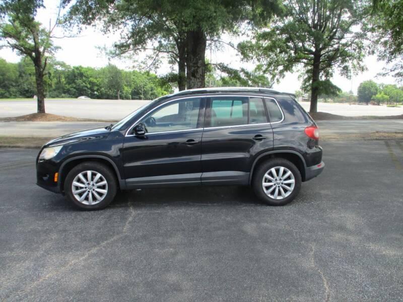 2011 Volkswagen Tiguan for sale at A & P Automotive in Montgomery AL