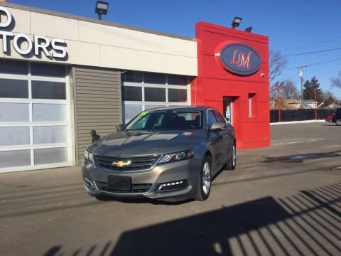 2018 Chevrolet Impala for sale at Legend Motors of Detroit in Detroit MI