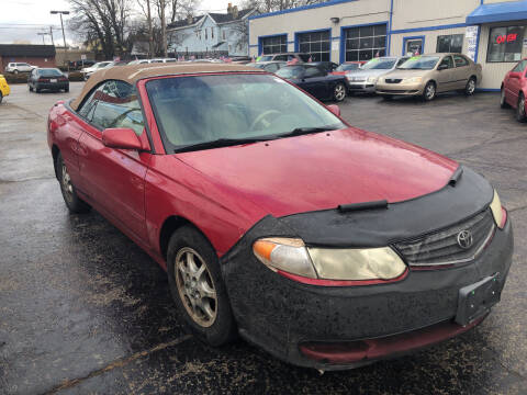 2002 Toyota Camry Solara for sale at Klein on Vine in Cincinnati OH