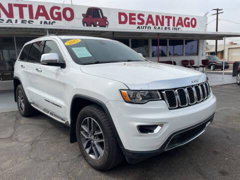 2017 Jeep Grand Cherokee for sale at DESANTIAGO AUTO SALES in Yuma AZ