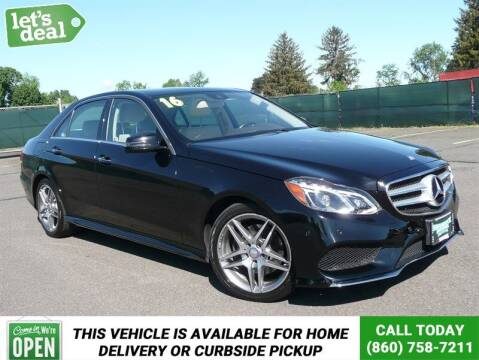 2016 Mercedes-Benz E-Class for sale at Shamrock Motors in East Windsor CT