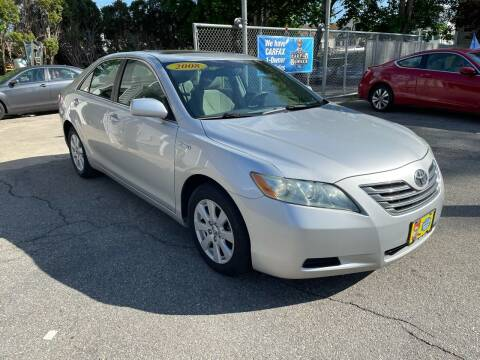 2008 Toyota Camry Hybrid for sale at JK & Sons Auto Sales in Westport MA