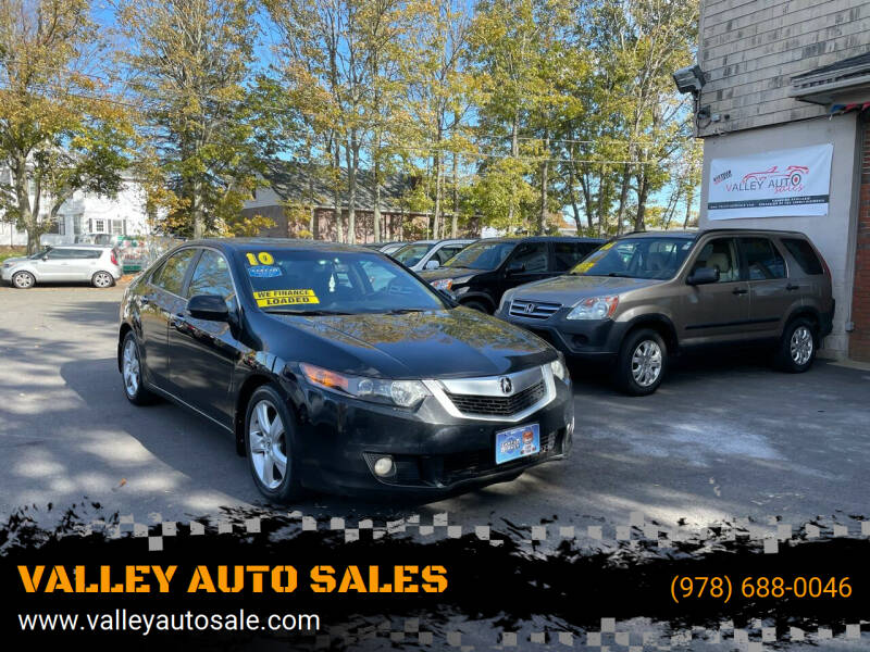 2010 Acura TSX for sale at VALLEY AUTO SALES in Methuen MA