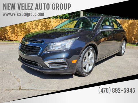 2015 Chevrolet Cruze for sale at NEW VELEZ AUTO GROUP in Gainesville GA