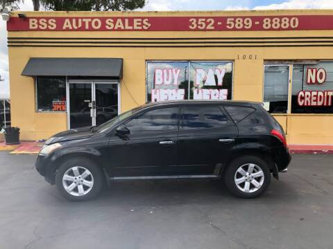 2006 Nissan Murano for sale at BSS AUTO SALES INC in Eustis FL