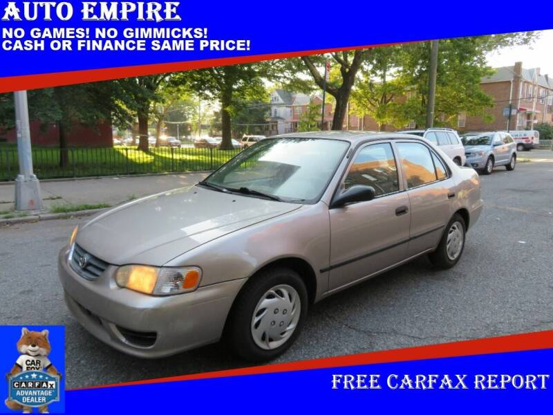 2001 Toyota Corolla for sale at Auto Empire in Brooklyn NY