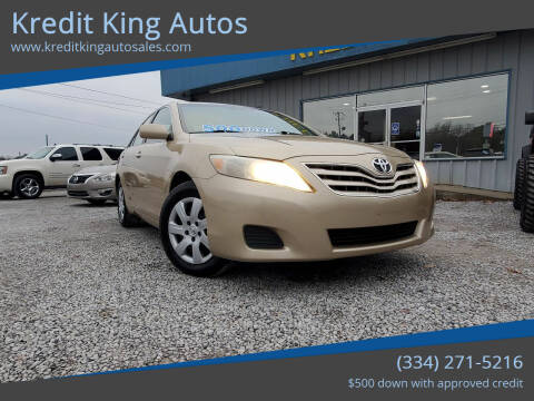 2010 Toyota Camry for sale at Kredit King Autos in Montgomery AL