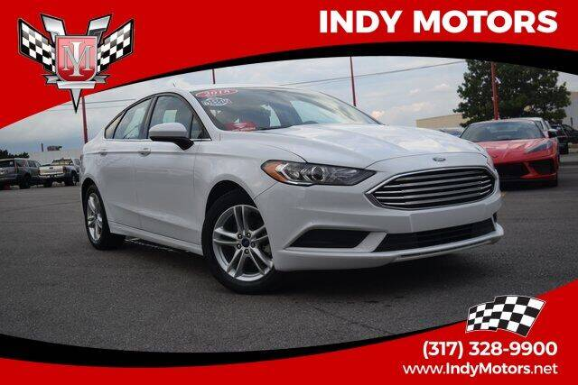 2018 Ford Fusion for sale at Indy Motors Inc in Indianapolis IN