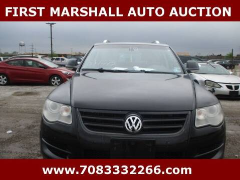 2010 Volkswagen Touareg for sale at First Marshall Auto Auction in Harvey IL