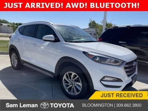 2018 Hyundai Tucson for sale at Sam Leman Mazda in Bloomington IL