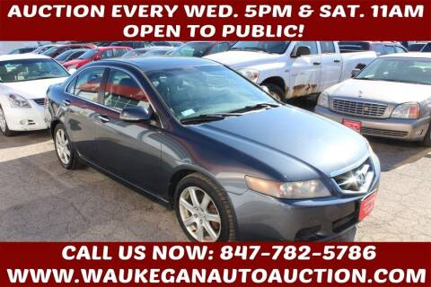 2004 Acura TSX for sale at Waukegan Auto Auction in Waukegan IL