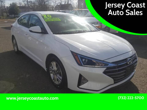 2020 Hyundai Elantra for sale at Jersey Coast Auto Sales in Long Branch NJ