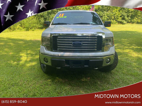 2011 Ford F-150 for sale at Midtown Motors in Greenbrier TN