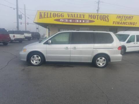 2001 Honda Odyssey for sale at Kellogg Valley Motors in Gravel Ridge AR