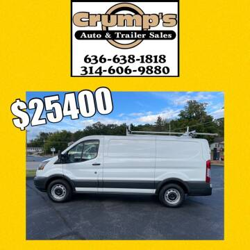 2017 Ford Transit Cargo for sale at CRUMP'S AUTO & TRAILER SALES in Crystal City MO