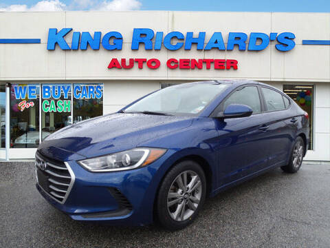 2017 Hyundai Elantra for sale at KING RICHARDS AUTO CENTER in East Providence RI