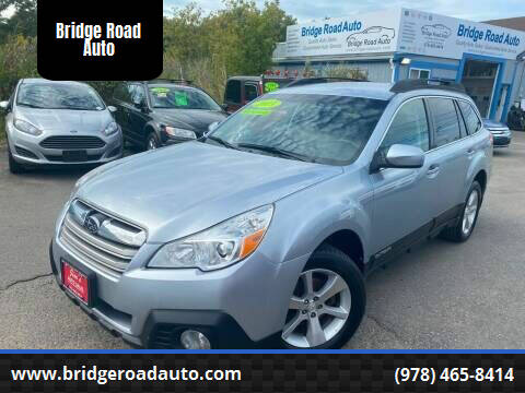 2013 Subaru Outback for sale at Bridge Road Auto in Salisbury MA
