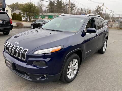 2015 Jeep Cherokee for sale at Platinum Auto in Abington MA