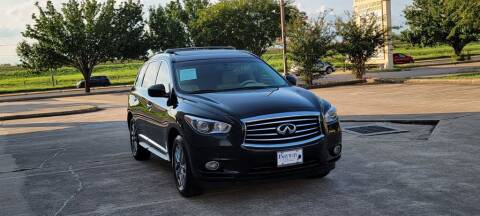2013 Infiniti JX35 for sale at America's Auto Financial in Houston TX
