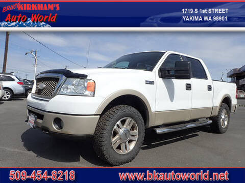 2007 Ford F-150 for sale at Bruce Kirkham Auto World in Yakima WA