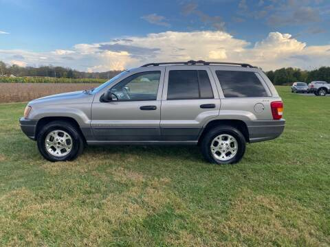 2001 Jeep Grand Cherokee for sale at Wendell Greene Motors Inc in Hamilton OH