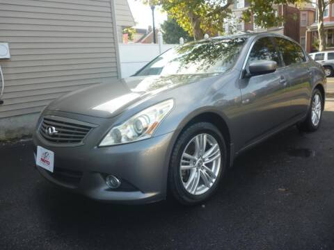 2010 Infiniti G37 Sedan for sale at Pinto Automotive Group in Trenton NJ