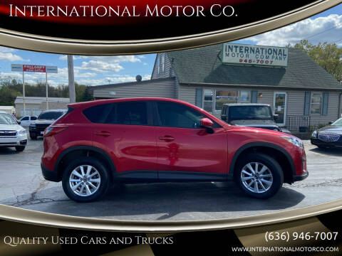 2014 Mazda CX-5 for sale at International Motor Co. in St. Charles MO