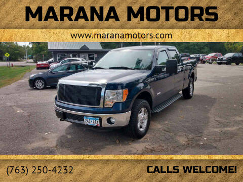 2013 Ford F-150 for sale at Marana Motors in Princeton MN