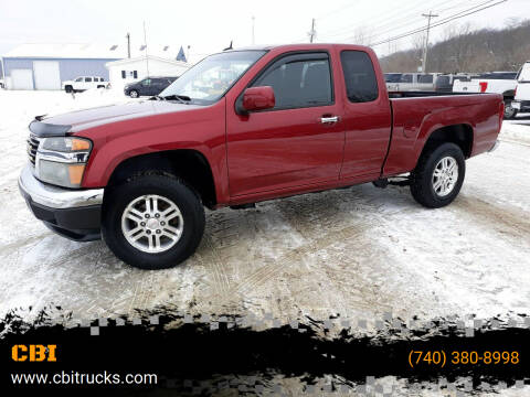 2011 GMC Canyon for sale at CBI in Logan OH