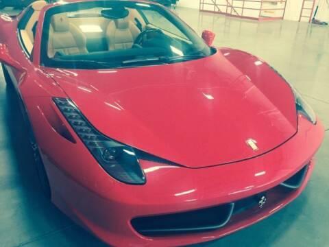 2014 Ferrari 458 Speciale for sale at Classic Car Deals in Cadillac MI