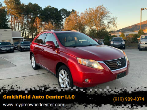 2010 Lexus RX 350 for sale at Smithfield Auto Center LLC in Smithfield NC