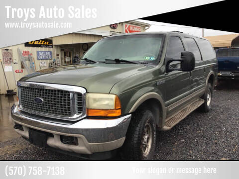 2000 Ford Excursion for sale at Troys Auto Sales in Dornsife PA